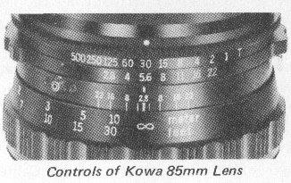 Lens control