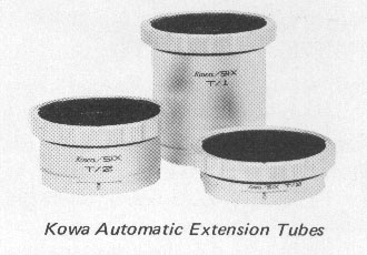 Kowa Automatic Extension Tubes