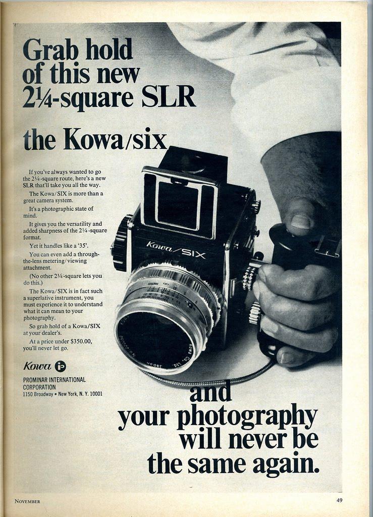 Kowa Six Ad 1969